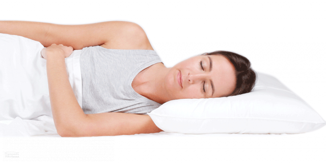 Sleeping Neck Support Pillow Sleepezy 3 Zone