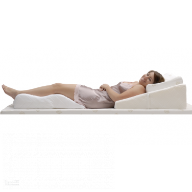 Bed Pillow Contoured Bed Wedge Support Pillow