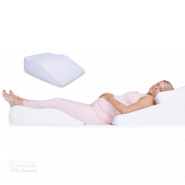 Leg Relaxer -  Contoured Leg Wedge Comforting Leg Pillow Support